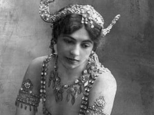 A Portrait of Mata Hari, circa 1907