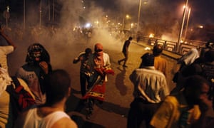 Egyptian supporters of the Muslim Brotherhood