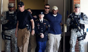 Bradley Manning in court in Maryland