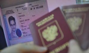 Edward Snowden Russia asylum