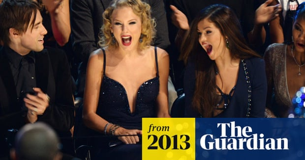 Taylor Swift Swears At One Direction During Mtv Awards Video Music The Guardian