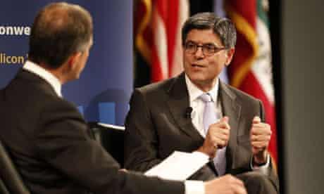 Treasury secretary Jack Lew