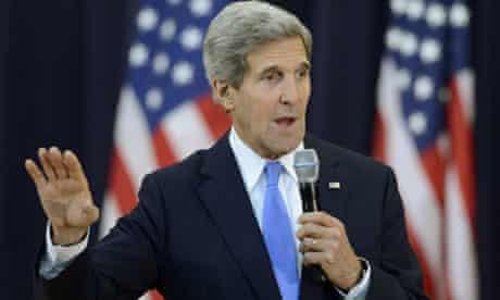 John Kerry speaks on Syria