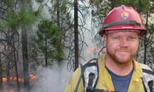 Russell Mitchell, firefighter