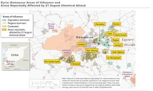 Syria White House map