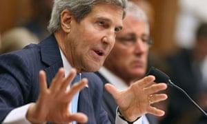 John Kerry in Washington