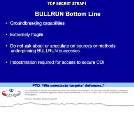 NSA Bullrun 2