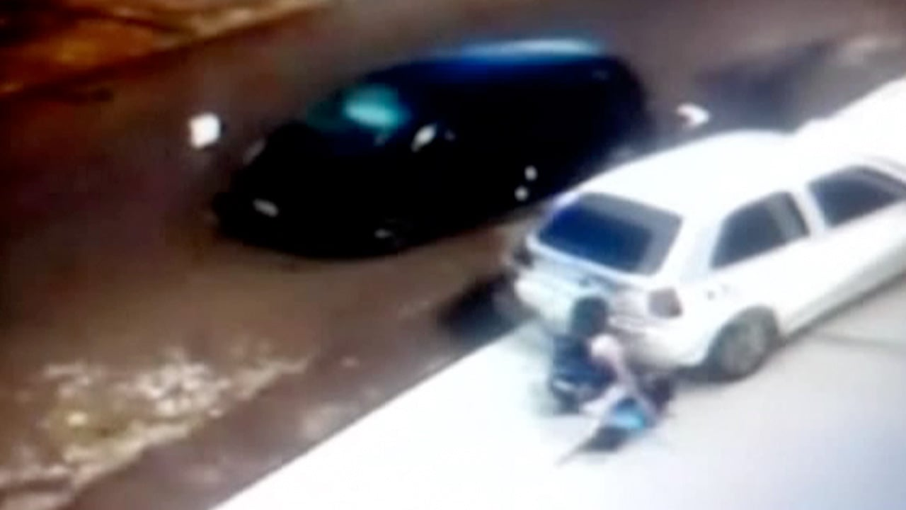 Five-year-old and grandmother survive being run over in Brazil ...