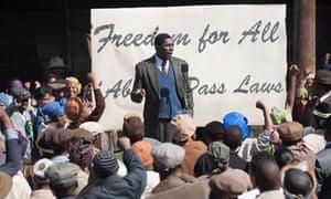Idris Elba in Mandela: Long Walk to Freedom