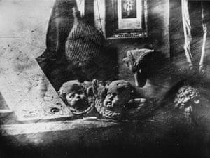 Louis Jacques Daguerre's first surviving daguerreotype image,  L'Atelier de l'Artiste