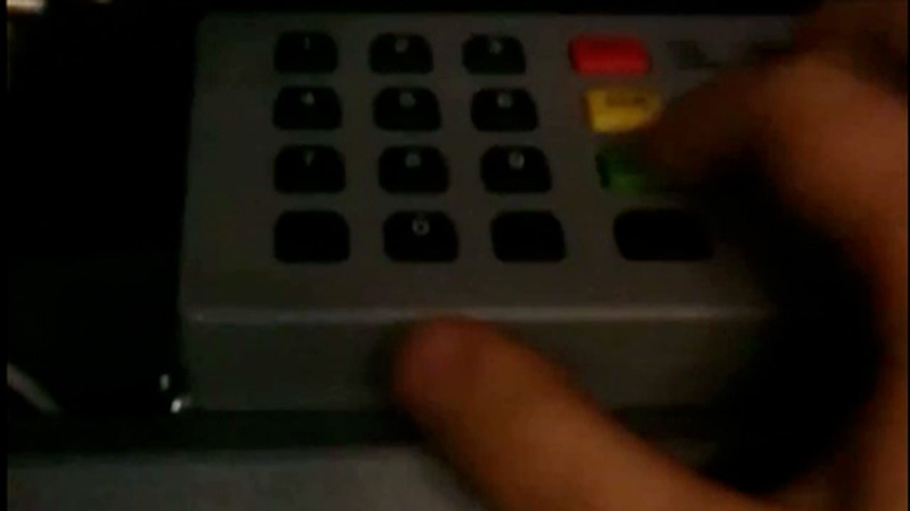 How cash machines are hacked without bank card – video