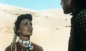 Natalie Wood in The Searchers
