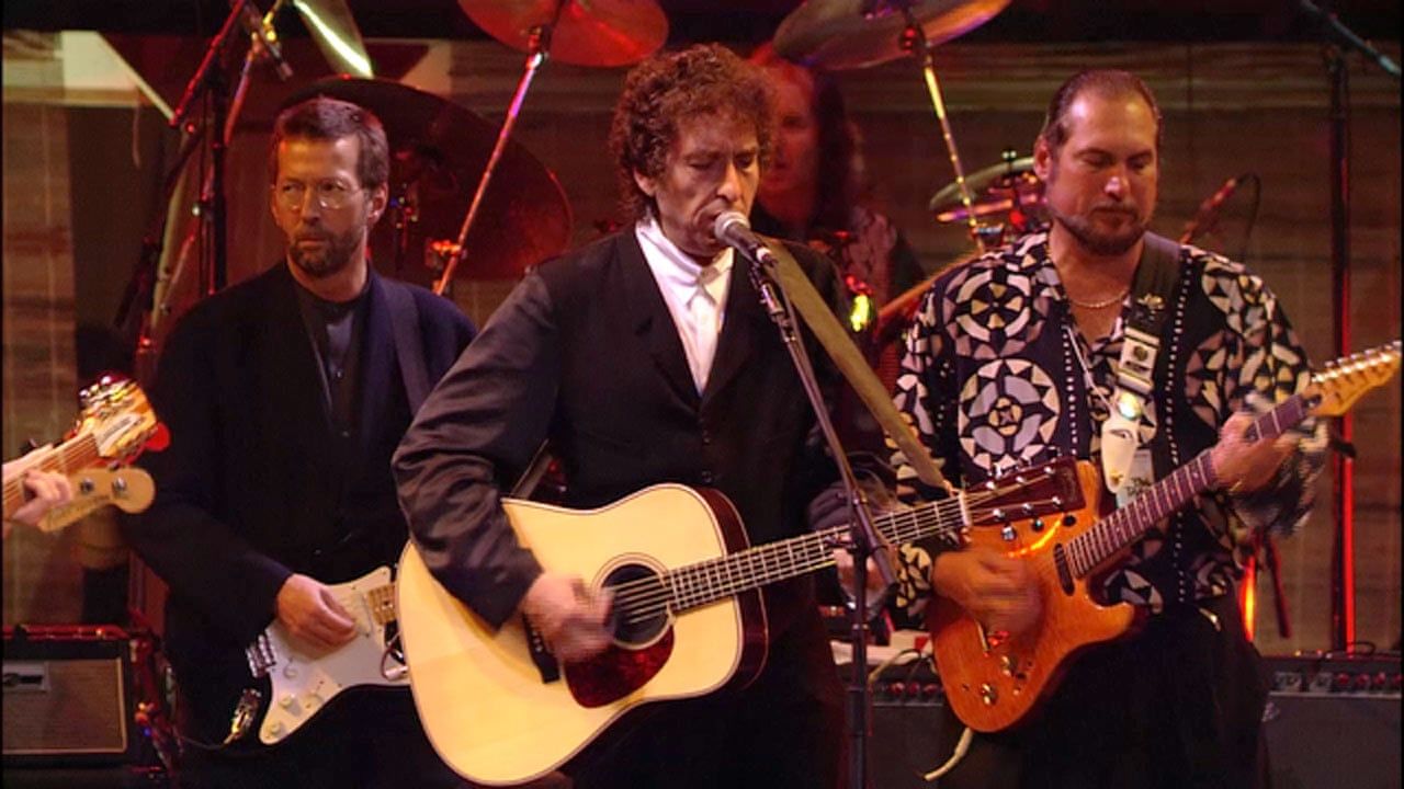 Bob Dylan performs My Back Pages at his 30th anniversary concert - video