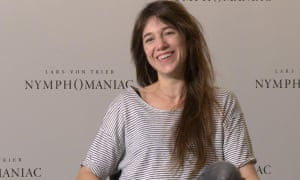 The guardian film show nymphomaniac stranger by the lake winters nymphomaniac star charlotte gainsbourg the sex wasnt hard the masochistic scenes were embarrassing video interview thecheapjerseys Images