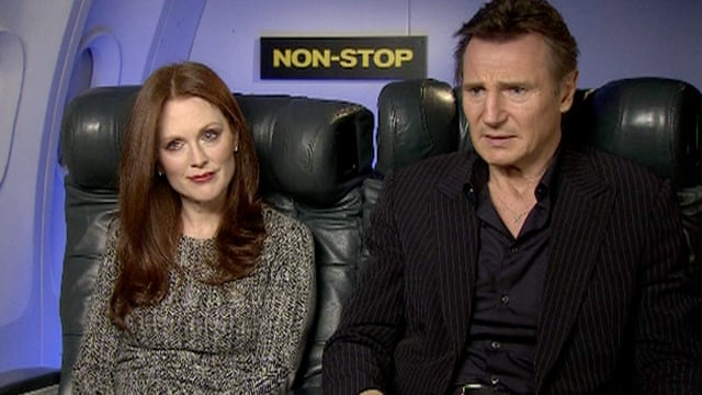Non Stop Review Liam Neeson Claims His Crown As B Movie King Tom Shone Film The Guardian
