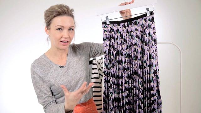 bcc2aa44cbbda How to dress  longer length skirts