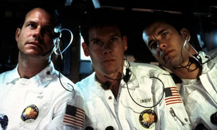 Bill Paxton, Kevin Bacon and Tom Hanks in Apollo 13