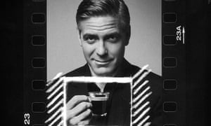 George Clooney in an advertisement for Nespresso coffee