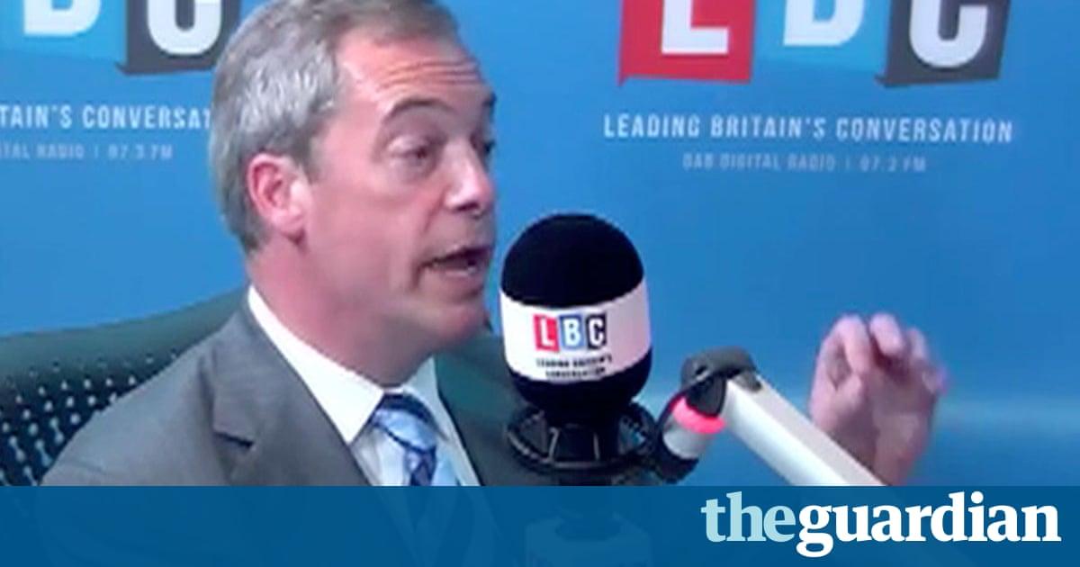 Nigel Farage Car Crash Guardian