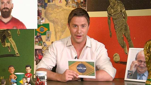 World Cup Show 2014: day six – video