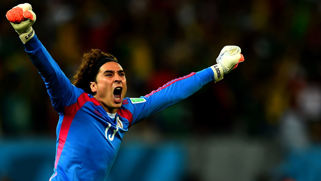 World Cup 2014  Goalkeeper Guillermo Ochoa backs Mexico s defence to  succeed against Holland - video  13657cf28