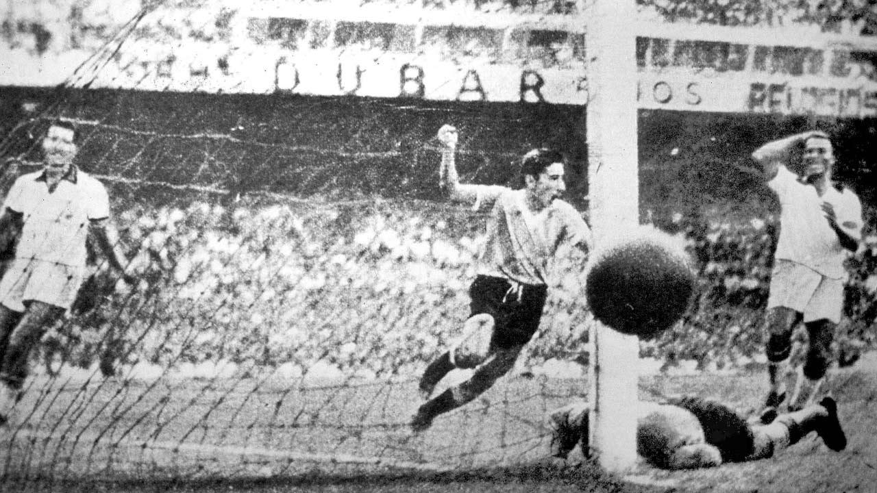 نتيجة بحث الصور عن brazil uruguay world cup 1950