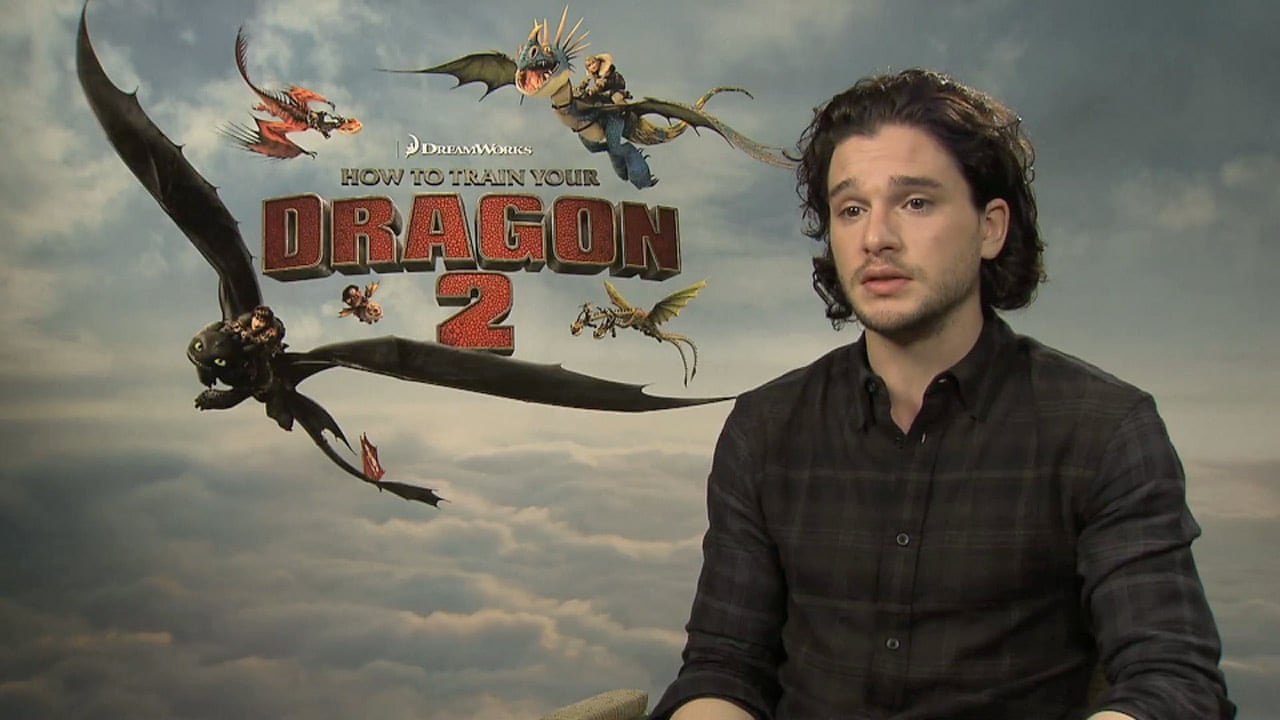 Kit Harington How To Train Your Dragon 2 Recording