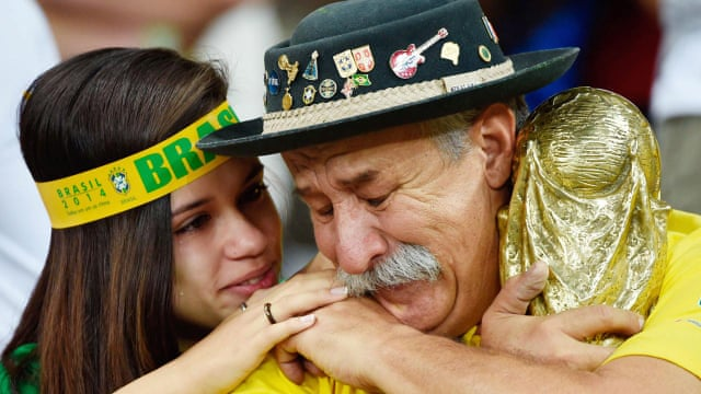 Image result for soccer fans brasilian