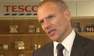 Tesco's CEO Dave Lewis