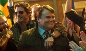 Hot ticket ... James Marsden and Jack Black in D-Train