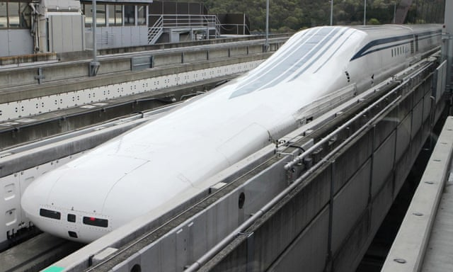 Japan's maglev train breaks world speed record with 600km/h test run