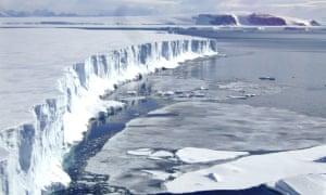 Wilkins Ice Shelf Collapse