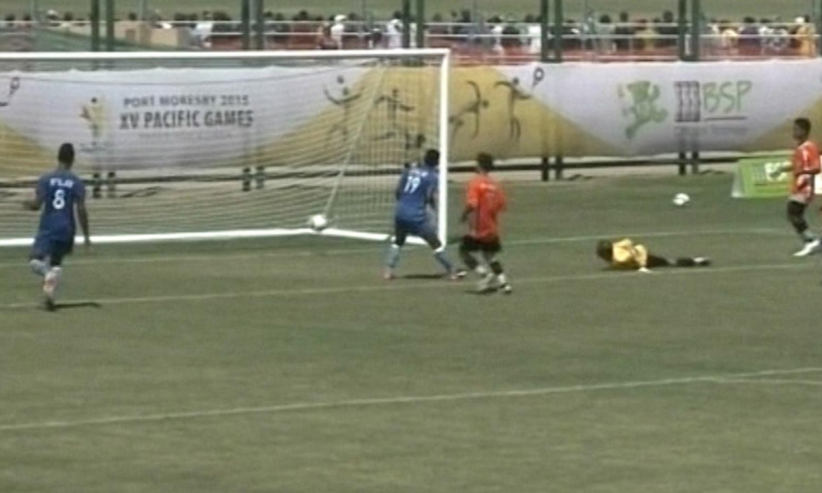 Fiji hammer Micronesia 38-0 at Pacific Games - video highlights