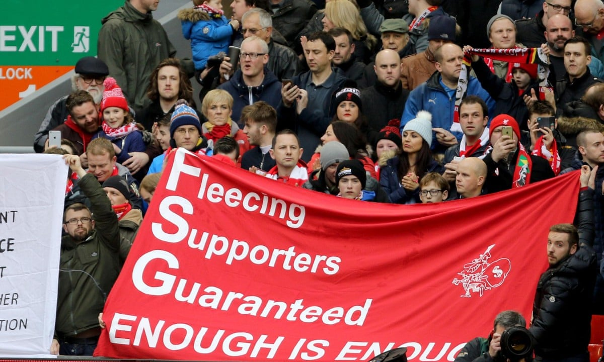 Liverpool fans' group chairman hails ticket prices victory – audio | Football | The Guardian