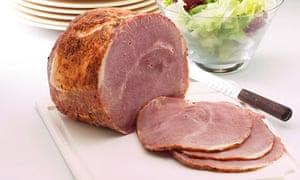 Joint of Honey roast ham