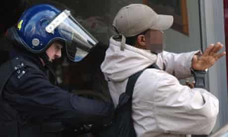 Police drugs arrest