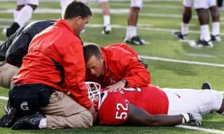 Eric LeGrand American college football Rutgers