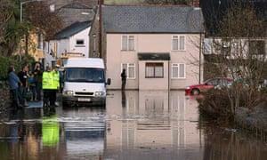 Flooding hits Devon And Cornwall