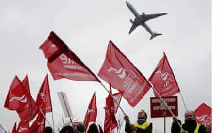 BA strike 2010 Heathrow