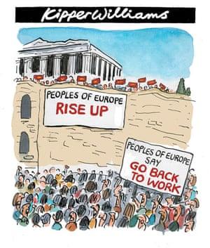Kipper cartoon Greece debt crisis 5/5/2010