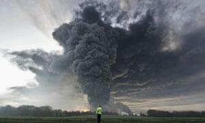 (FILE PHOTO) Huge Blast Rips Through Oil storage Depot