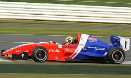 Harry Tincknell racing at Silverstone