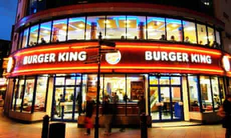 Burger King, Leicester Square, London