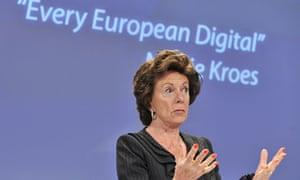 EU commissioner for Digital Agenda Neeli