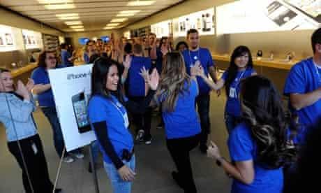 Apple iPhone 4S launch