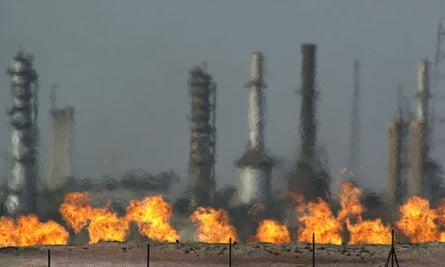 gas flaring in Iraq