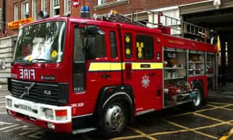 clerkenwell fire engine