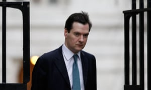 Chancellor of the Exchequer George Osborne arrives in Downing Street, in central London