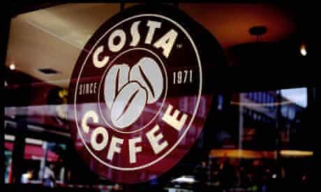 Costa Coffee sign