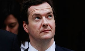 Britain's Chancellor of the Exchequer George Osborne leaves Downing Street in London